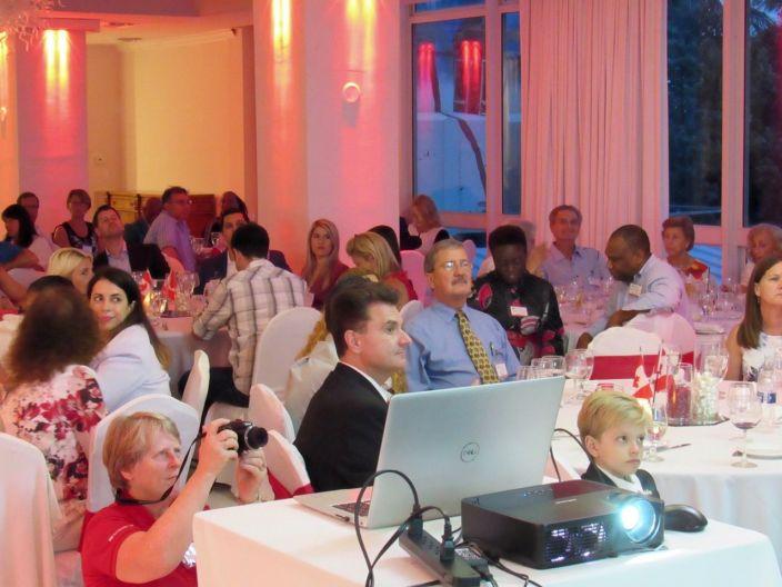 Fête nationale du Canada en Floride organisé à Fort Lauderdale par la Chambre de Commerce Canada-Floride
