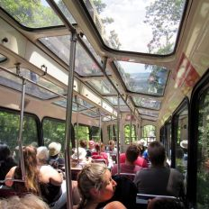 Le funiculaire de Lookout Mountain à Chattanooga