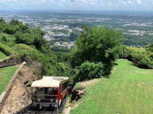 Le funiculaire de Lookout Mountain à Chattanooga