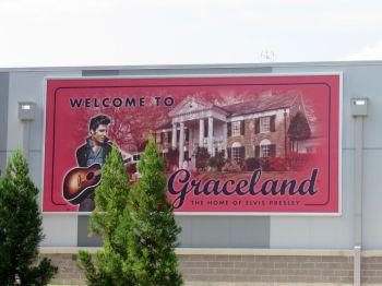 Graceland, la maison d'Elvis Presley à Memphis