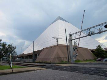 L'intérieur de la pyramide de Memphis