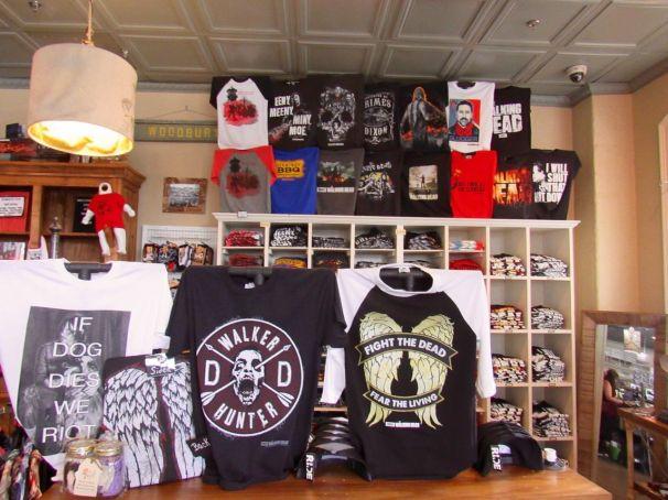 The Woodbury Shoppe : la boutique The Walking Dead de Senoia en Géorgie