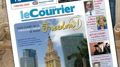 Photo of Le Courrier de Floride de Septembre 2019 est sorti !