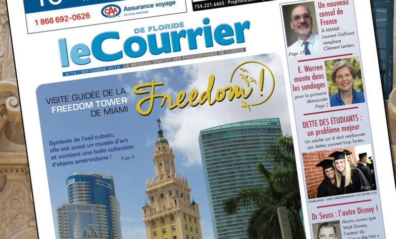 Le Courrier de Floride de Septembre 2019