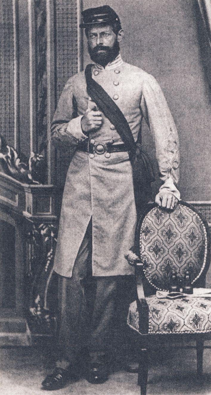 Henry Wirz, le directeur de la prison d'Andersonville