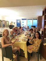 Auberge espagnole chez un membre (Crédit photo : Alliance francophone de Palm Beaches)