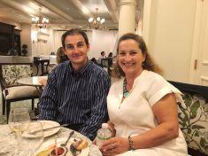 Valérie Jarnberg, vice-présidente, et Christophe Couedelo, délégué, UFE Tampa Bay (Crédit photo : UFE Tampa Bay)