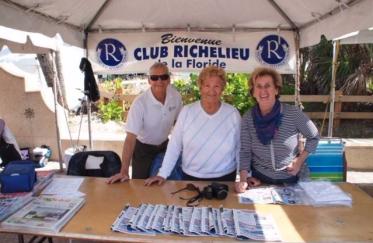 Membres du Club Richelieu (Crédit photo : Club Richelieu)