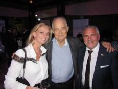 Bertille Hocquet, Jacques Brion (conseiller consulaire) et Alain Ouelhadj.