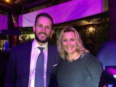 Séverine Gianese-Pittman, l'ancienne présidente, était aussi de cette soirée de lancement des French Weeks 2019.