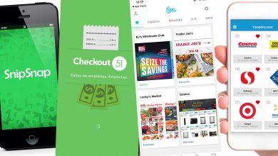 Photo de Les apps pour les coupons de supermarchés aux Etats-Unis : économies, rabais, aubaines, réductions… faites vos courses, magasinage et shopping avec intelligence aux USA !