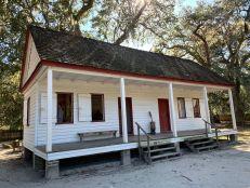 Maison d'esclaves à la Plantation Middleton Place à Charleston