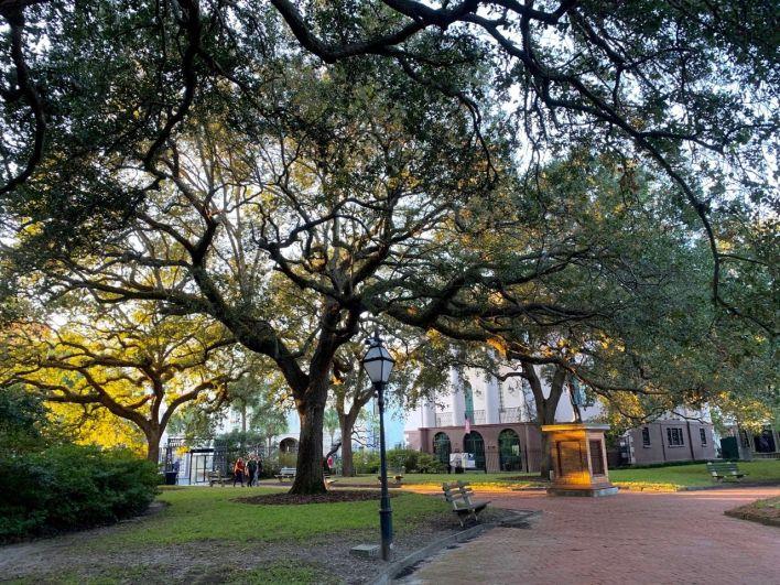Washington Square à Charleston