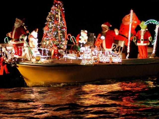 Boat parade de Clearwater