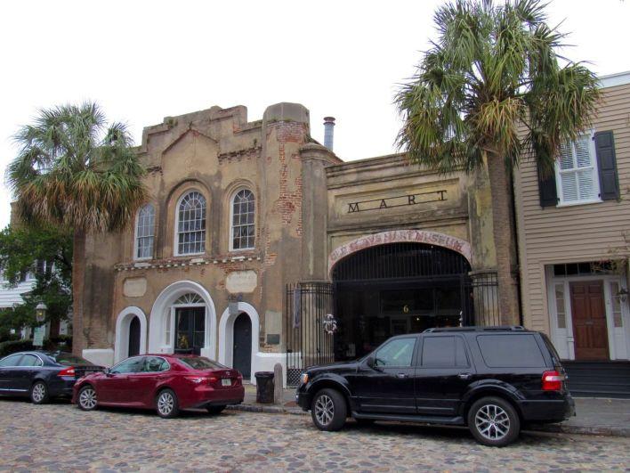 The Old Slave Mart Museum : marché aux esclaves de Charleston