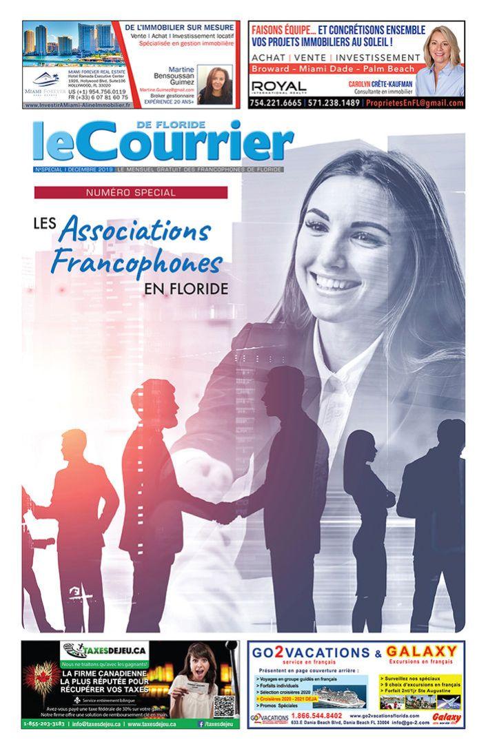 Le Courrier de Floride : numéro spécial sur les associations francophone en Floride