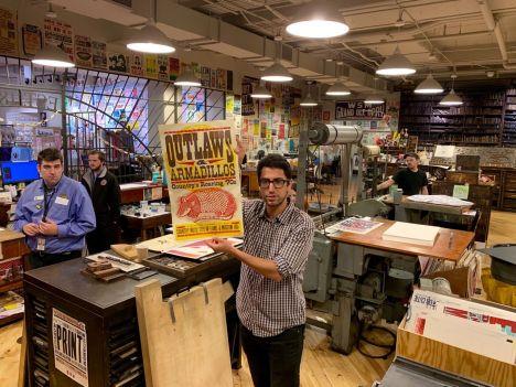 Hatch Show Print à Nashville
