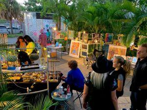L'art Week dans le quartier de Wynwood à Miami