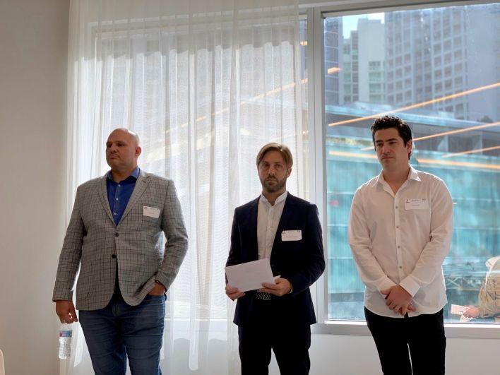 Eric Tourtel, Stanislas Coignard et David Azar
