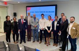 L'ambassadeur Philippe Etienne est venu soutenir le lancement de la French Tech à Miami