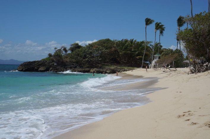 Cayo Levantado dans la Baie de Samaná en République Dominicaine.
