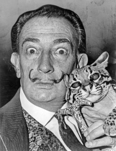Salvador Dali (photo dans le domaine public)