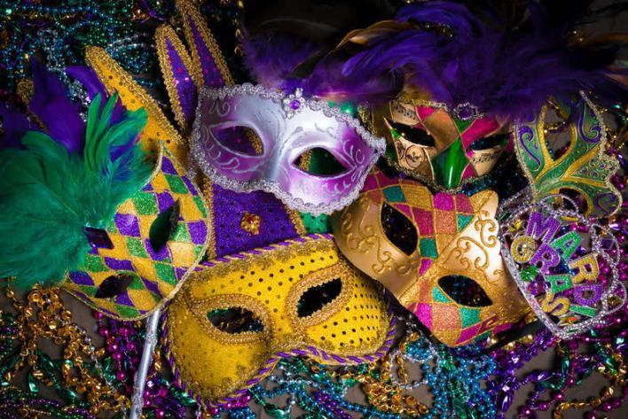 Mardi Gras Celebration à Hollywood