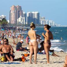 Las Olas Beach à Fort Lauderdale