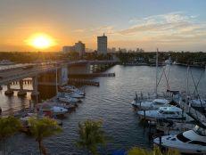 Le pont de Las Olas Beach à Fort Lauderdale