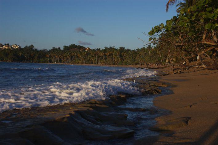 Playa Bonita, près de Terrenas, sur la péninsule de Samaná en République Dominicaine.