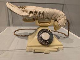 Homard-Téléphone au Salvador Dali Museum de St Petersburg