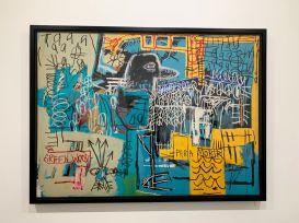 Oeuvre de Jean-Michel Basquiat au Rubell Museum de Miami (collection privée d'art contemporain)
