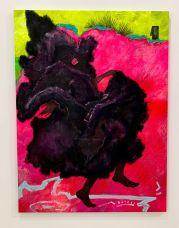 Peinture de Cy Gavin au Rubell Museum de Miami (collection privée d'art contemporain)