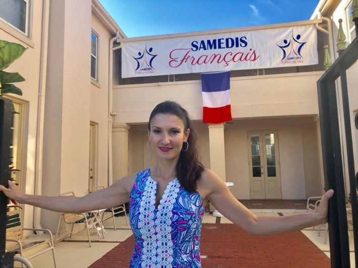 Axelle Gault, la fondatrice des Samedis Français : les cours de français du samedi à Orlando (Floride)