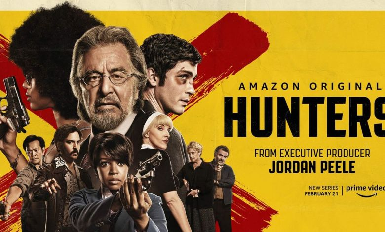 La série Hunters sur Amazon