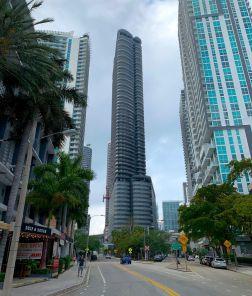 Le quartier de Brickell à Miami en Floride