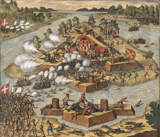 Fort Caroline en Floride