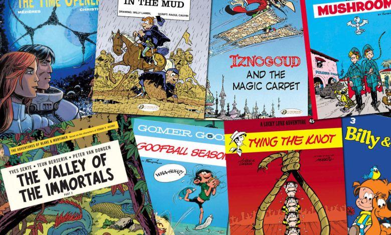 Cinebook : les bandes dessinées françaises et belges en anglais