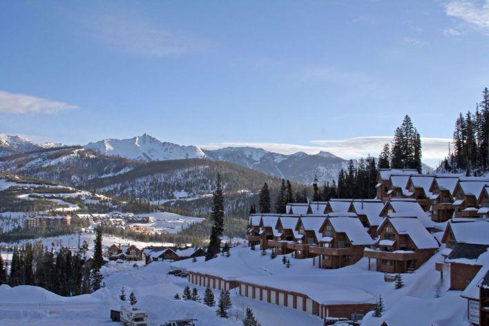Station de ski de Big Sky (Montana).