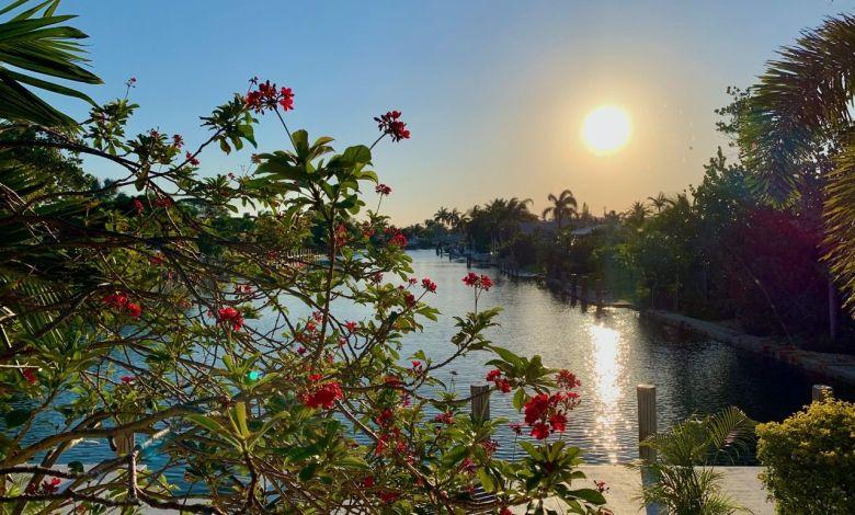 Quartier de Harbour Isles à Fort Lauderdale en Floride