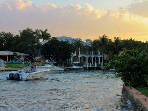 Quartier de Las Olas à Fort Lauderdale en Floride