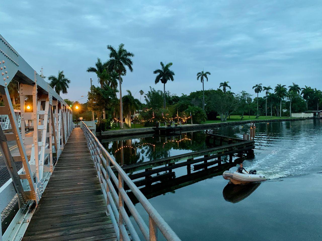 Quartier de Sailboat Bend à Fort Lauderdale en Floride