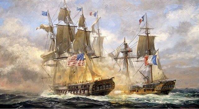La quasi-guerre entre la France et les Etats-Unis