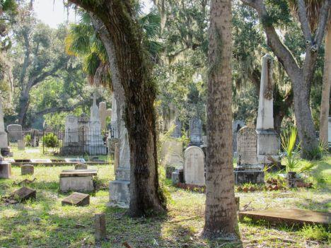Cimetière de Chestnut Street à Apalachicola en Floride