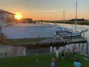 Le port d'Apalachicola en Floride