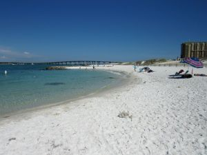 La plage de Norriego Point à Destin en Floride