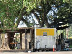 Stand de barbecue à Pensacola en Floride