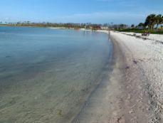 Plage côté baie au St Joseph Peninsula State Park