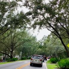 La Road 30A à Rosemary Beach en Floride