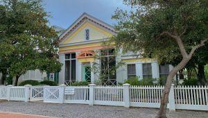 La maison de Truman à Seaside en Floride
